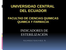 INDICADORES - esterilizacionmf