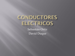 Conductores electricos Sebastian ortiz y David
