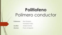 Politiofeno Polímero conductor - U