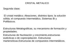 Estructura cristalina y granos (2015)