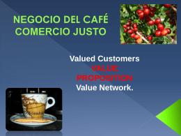 Propuesta de Valor sector cafetero docente Juan Zapata