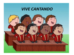 VIVE CANTANDO - WordPress.com