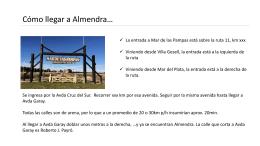 Presentación de PowerPoint - Almendra