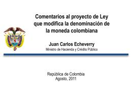 18-Ago-2011 Comentarios al proyecto de Ley que modifica la