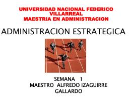UNIVERSIDAD ALAS PERUANAS ESCUELA DE POST GRADO