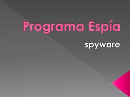 Programa espía