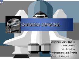CARRERA ESPACIAL - Patricio Alvarez Silva