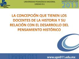 Presentación de PowerPoint - Universidad Pedagógica Nacional