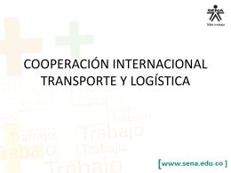 cooperación internacional transporte y logística