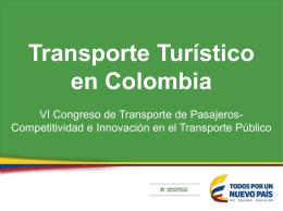 Transporte Turístico en Colombia