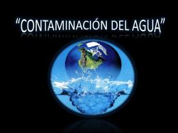 Vertimiento de basura y desmontes en las aguas