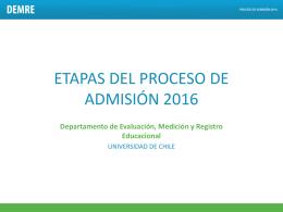 Fechas Admisión 2016 y PSU Conferencia de prensa 11 junio 2015