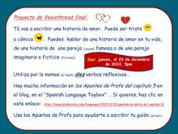 Proyecto de Voicethread final