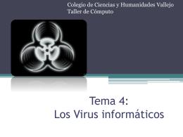 Los Virus informáticos y los Antivirus
