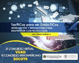 TacTICas para ser didácTICos - Sistema de Objetos Digitales