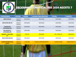 Diapositiva 1 - Racing Big Stars Fc