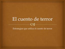 El cuento de terror