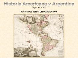 Mapas de la Formación del Territorio Argentino