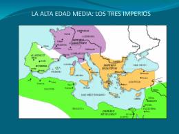 LA ALTA EDAD MEDIA (SIGLOS V AL X)