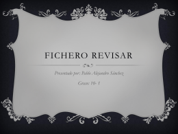 Fichero revisar