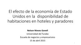 Tema: Disponibilidad de habitaciones en hoteles y