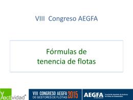 Fórmulas de tenencia de flotas