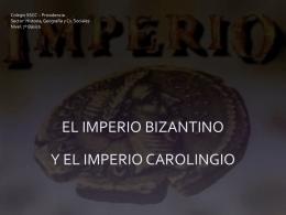Imperios Bizantino y Carolingio