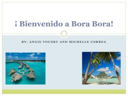 Bienvenido a Bora Bora! final