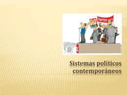 Sistemas políticos
