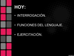 funciones del lenguaje - Liceo Bicentenario Talagante