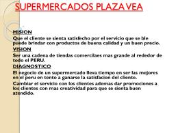 SUPERMERCADOS PLAZA VEA
