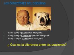 conectores - el lenguaje