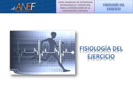 Sesion 5 - Fisiologia del Ejercicio