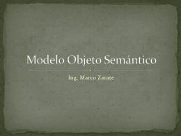 Modelo Objeto Semántico