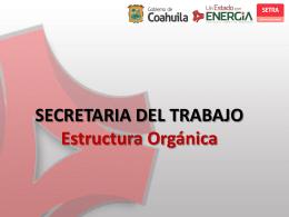SECRETARÍA DEL TRABAJO Subsecretaría de Justicia Laboral