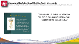 International Confederation of Christian Family Movements