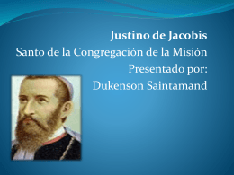 Justino de Jacobis - saintamand dukenson