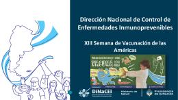 XII Semana de Vacunación de las Américas 25 de abril al 2 de