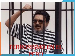 Terrorismo en el Perú