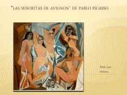 *Las señoritas de Avignon* de Pablo Picasso
