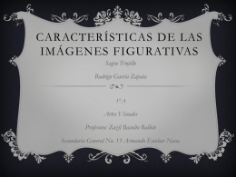 Características de las imágenes figurativas