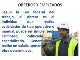 tecnologia de base obreros y empleados