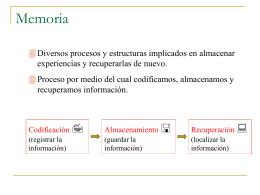 La Memoria - Colegio Humberstone