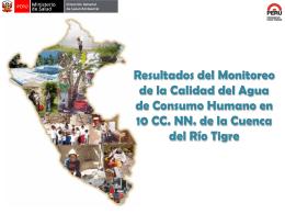 informe DIGESA cuenca del Tigre