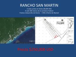 RANCHO SAN MARTIN