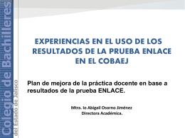 Diapositiva 1 - Resultados de Evaluación Jalisco