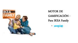 MOTOR DE GAMIFICACIÓN - Para IKEA Family
