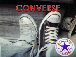 Converse - WordPress.com