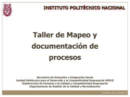 Documentación del SGC - Instituto Politécnico Nacional