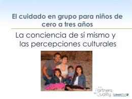 El desarrollo de prácticas de cuidado infantil culturalmente sensibles